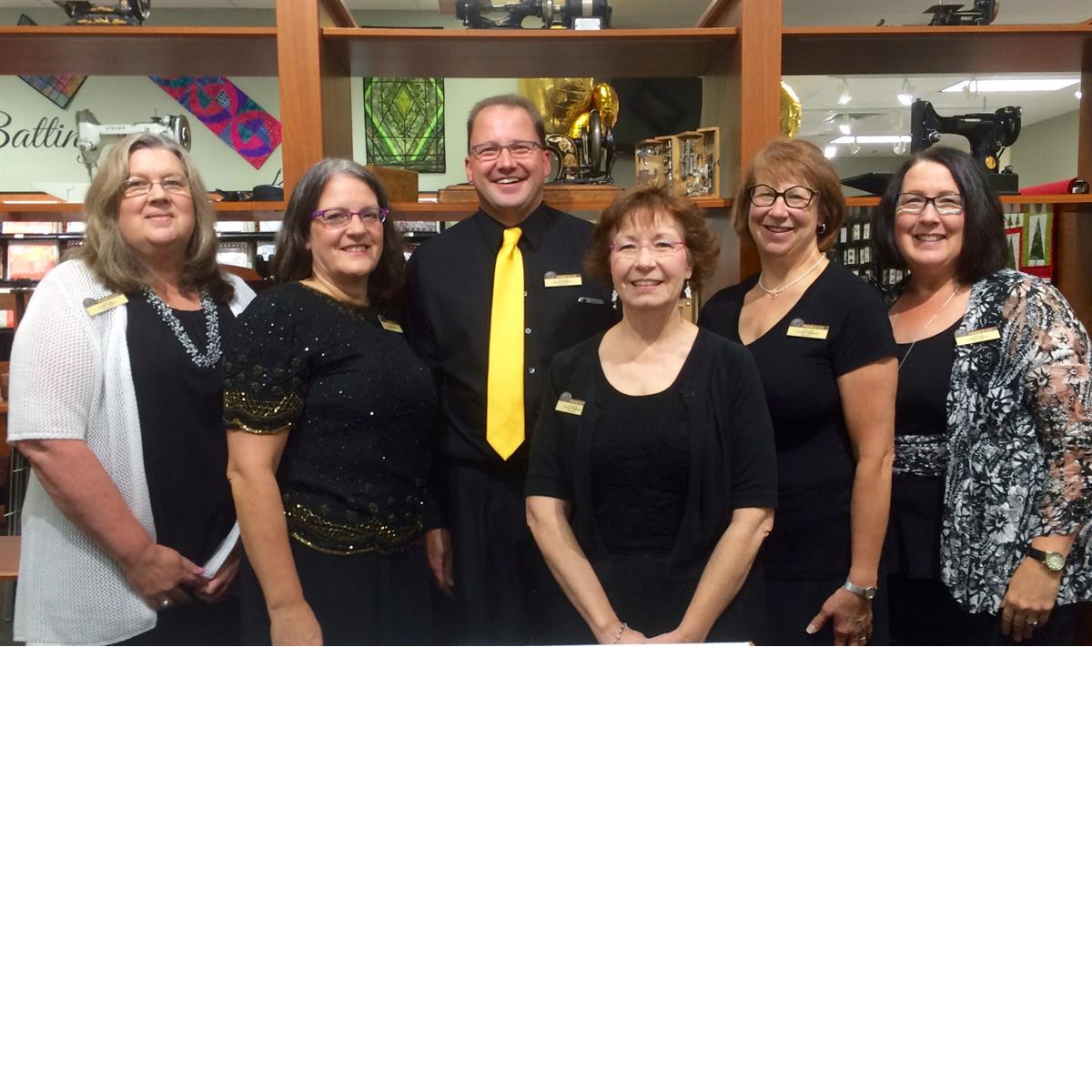 Staff at Frank's Sewing Center Waukesha WI