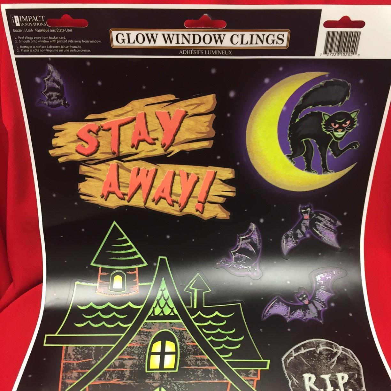 halloween window clings | thomas drug store