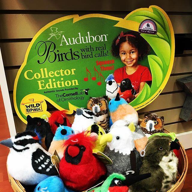 Audubon Singing Birds, plush, Wild Republic, bluebird, cardinal, owl, eagle, hummingbird, woodpecker, hawk