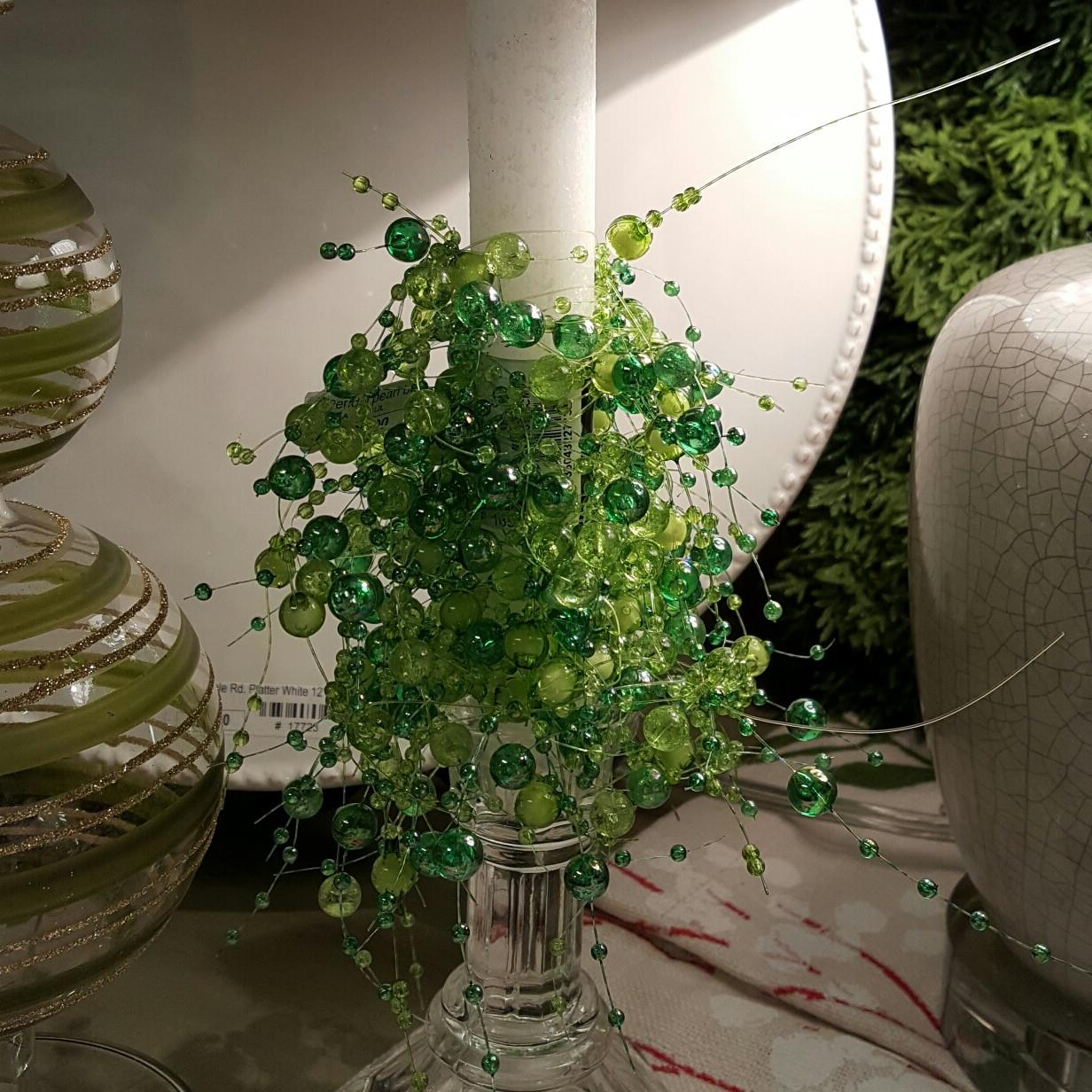 Beaded_garland_wrapped_green