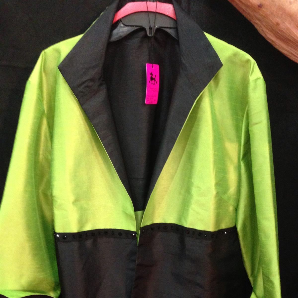 Lime/Black Jacket