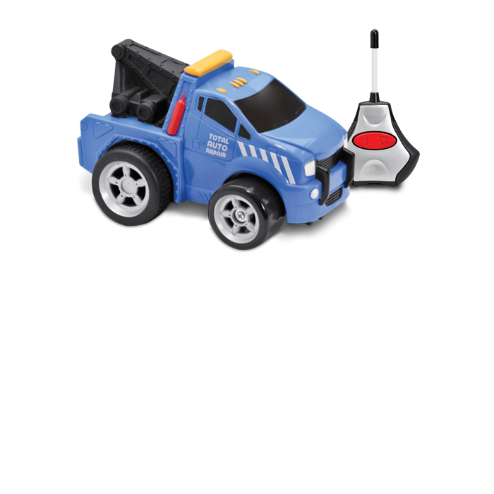 R/C Driverssoft Body Vehicle - Tow Truck