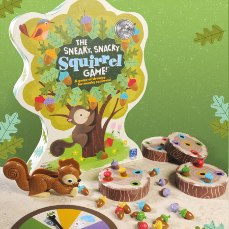 The Sneaky, Snacky Squirrel Game®