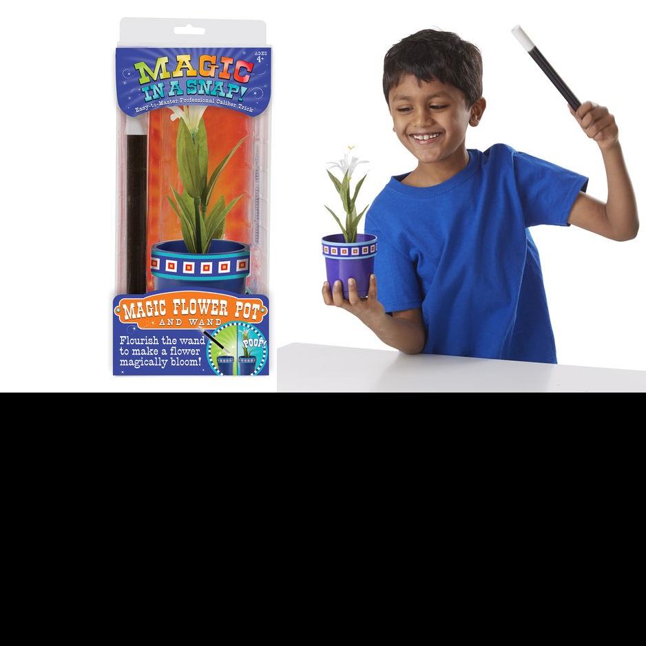Magic in a Snap! Magic Flower Pot