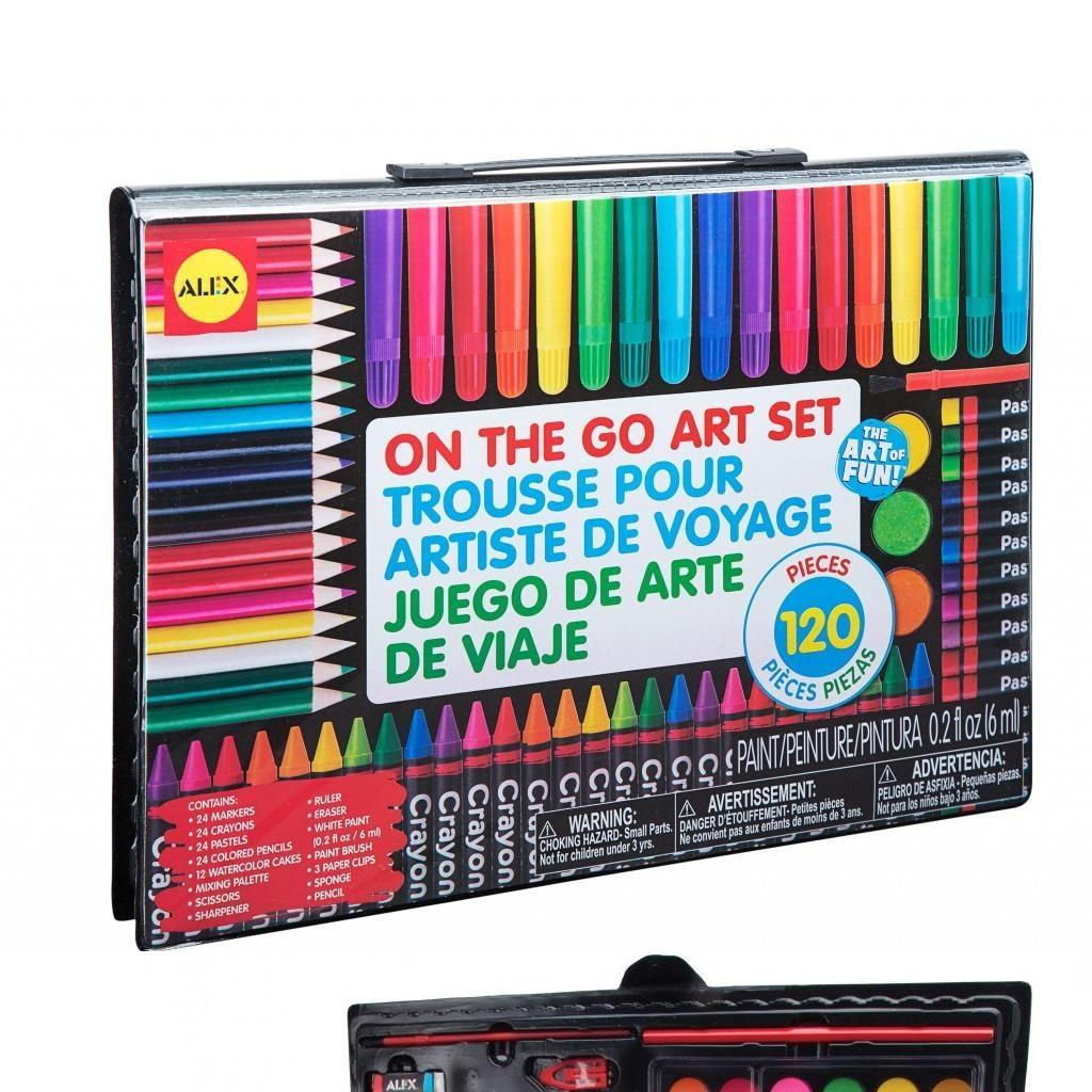 On The Go Art Set - 120pc.