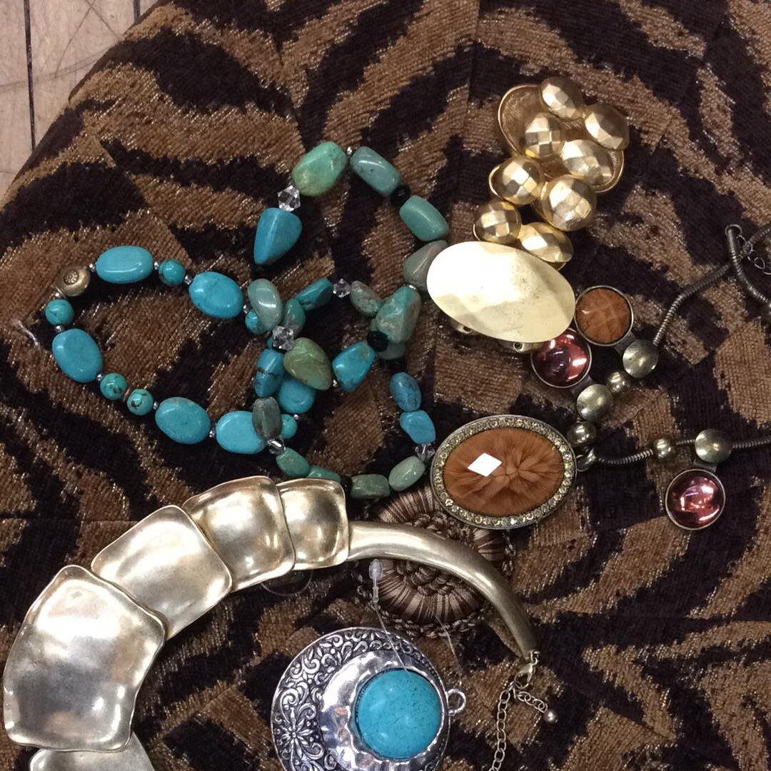 Consigned jewelry at Refashion Consigned Furniture and Clothing