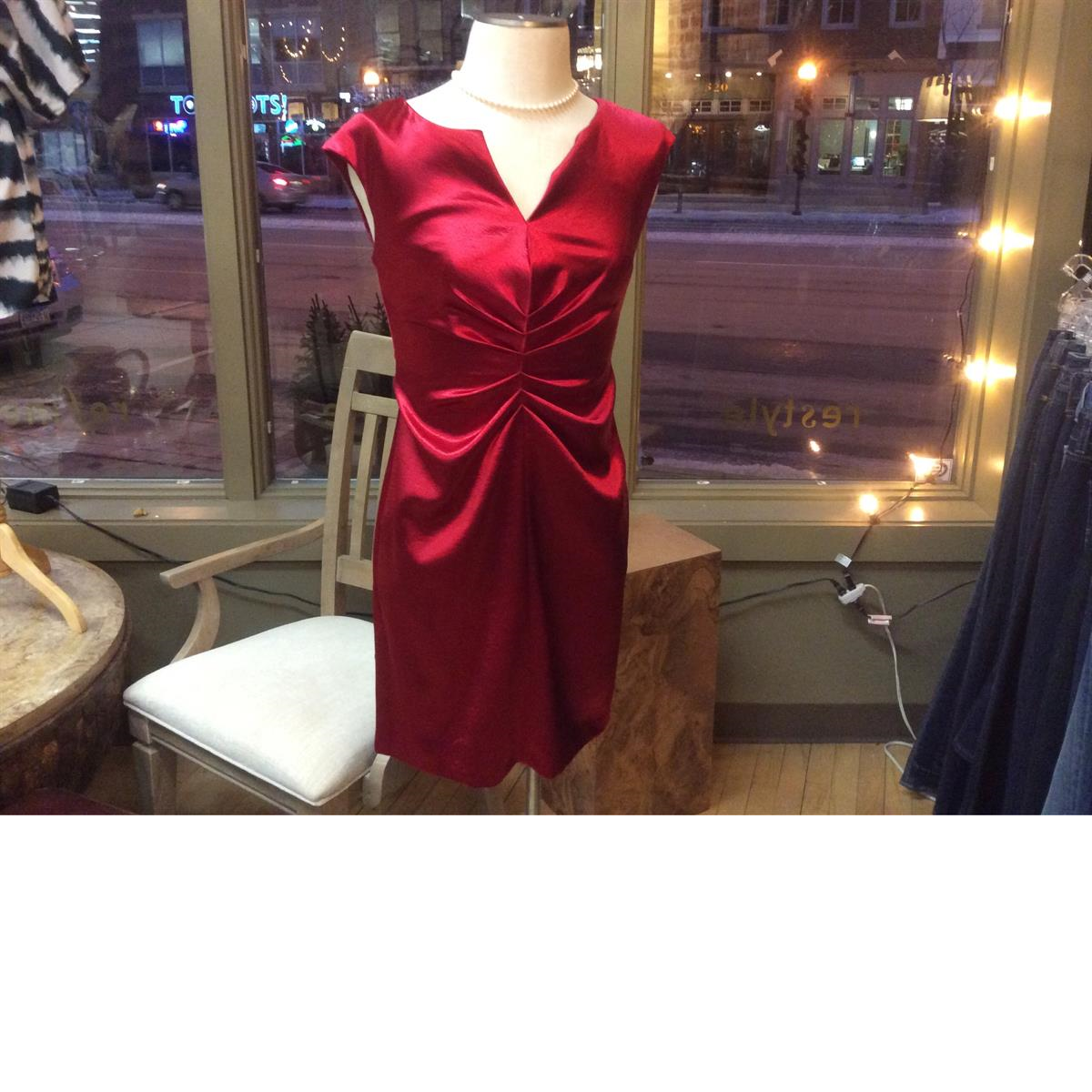 Consigned women's holiday dress at Refashion Consigned Furniture and Clothing