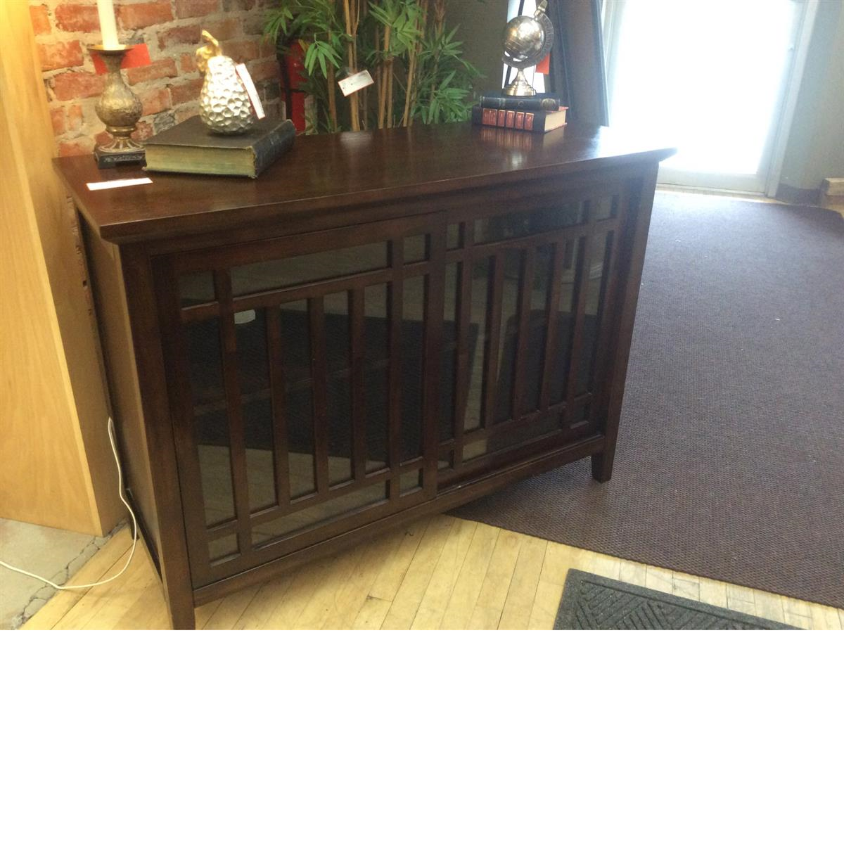 Consigned Pier One Cabinet at Refashion Consigned Furniture and Clothing