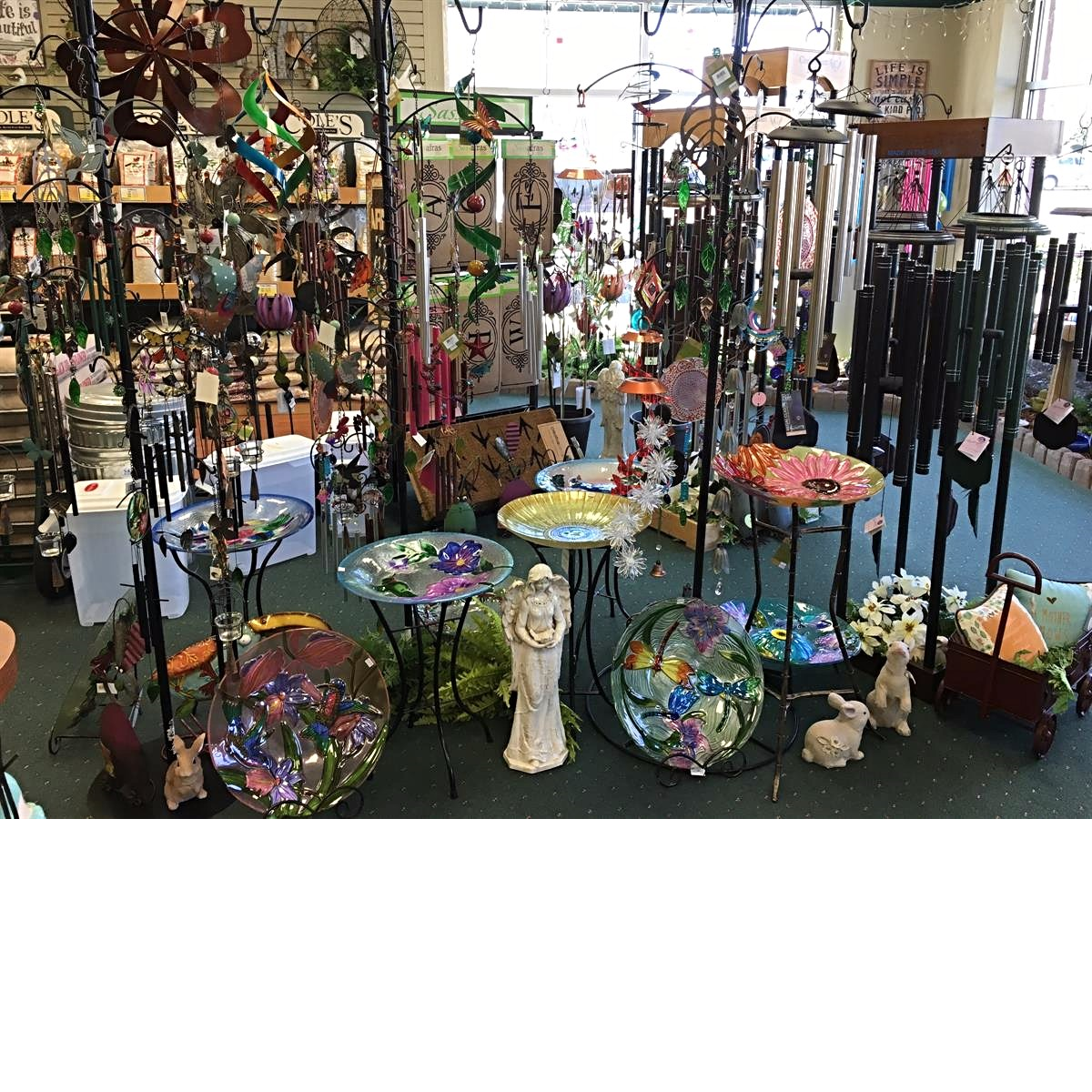 Gifts and items for your garden available at Bird Watcher Supply Company