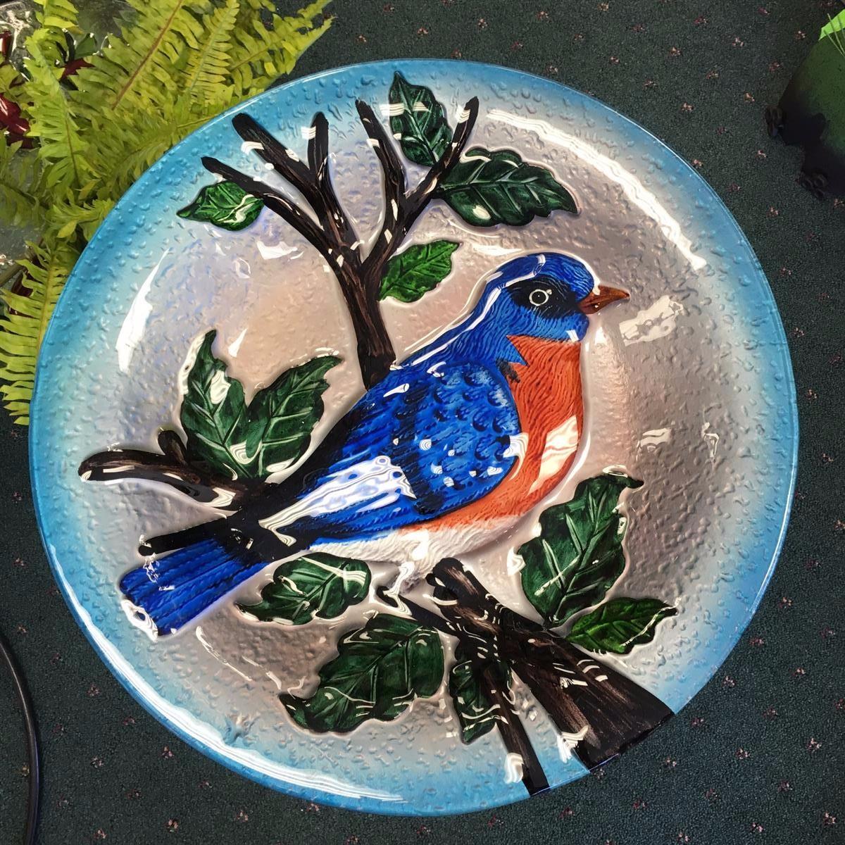 bird bath, songbird essentials, cardinal, bluebird