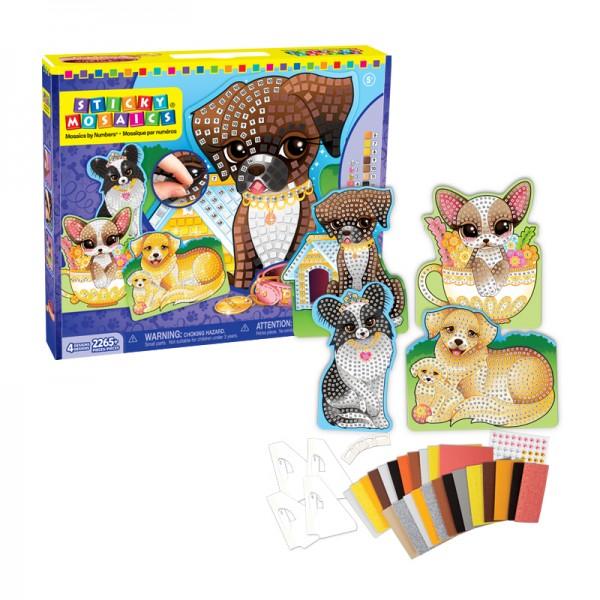 Sticky Mosaics® - Playful Puppies
