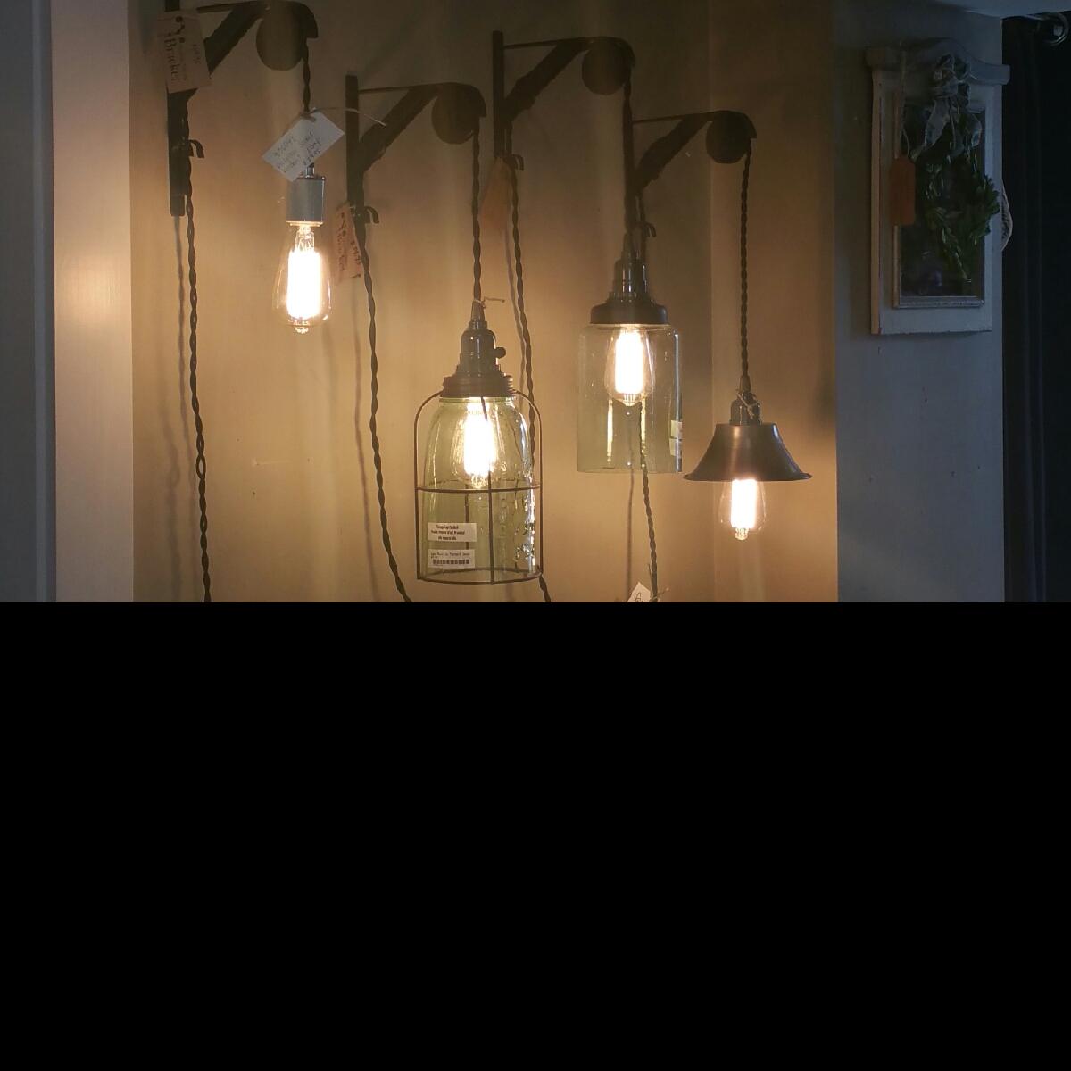 Pendant lights, Revive & Company