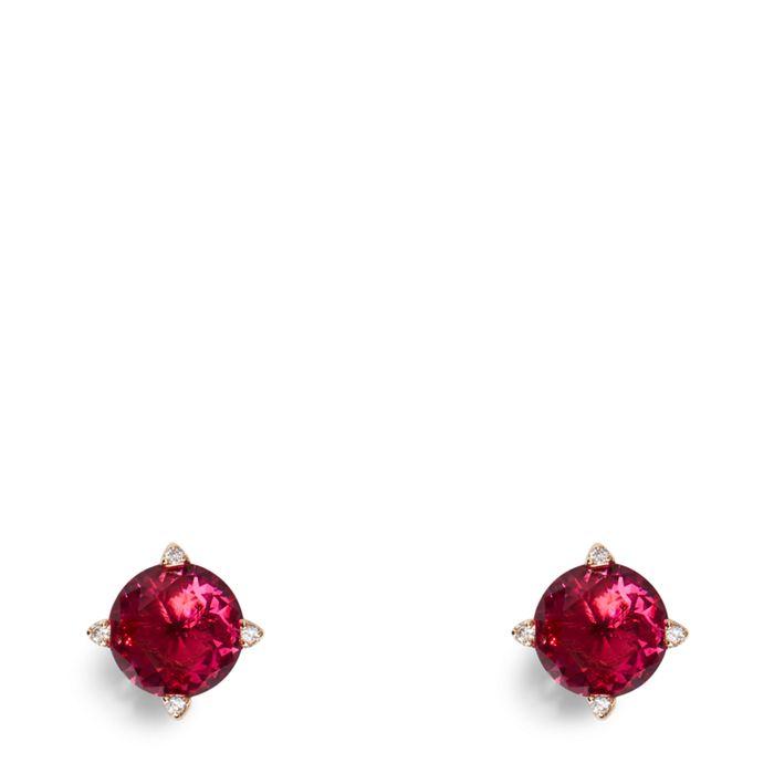 Sparkling Stud Earrings  #22345G34507