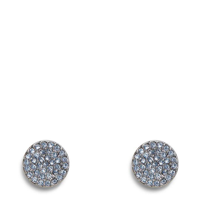 Pave Disk Stud Earrings  #22402237077