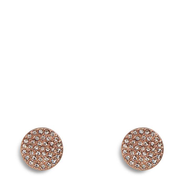 Pave Disk Stud Earrings  #22402G34958