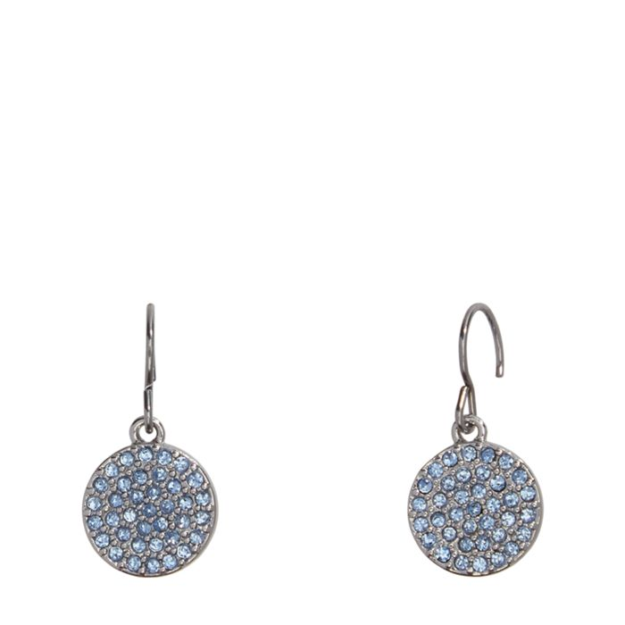 Pave Disc Drop Earrings  #22224237077