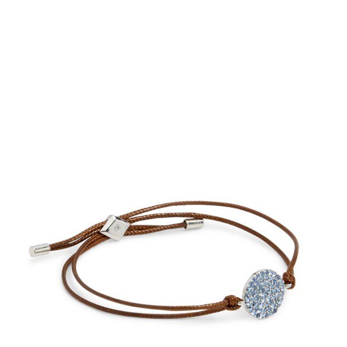 Pave Disc Slider Bracelet  #22223237077