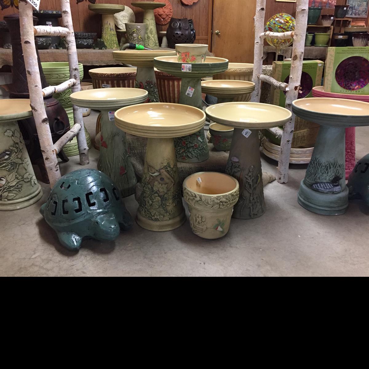 Pottery_Birdbaths