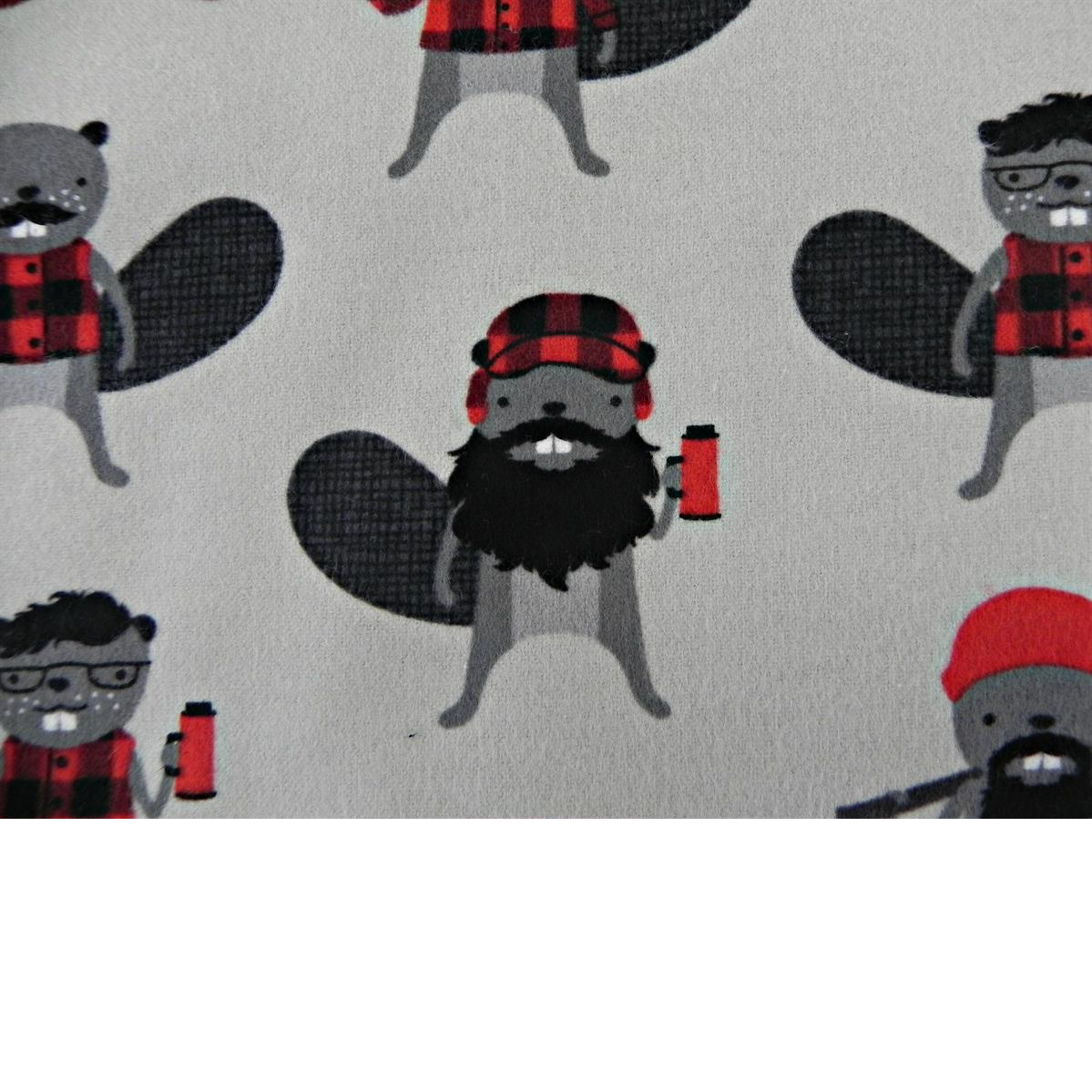 burly_beaver_flannel_cotton_thermos