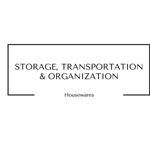 Storage Transportation and Organization