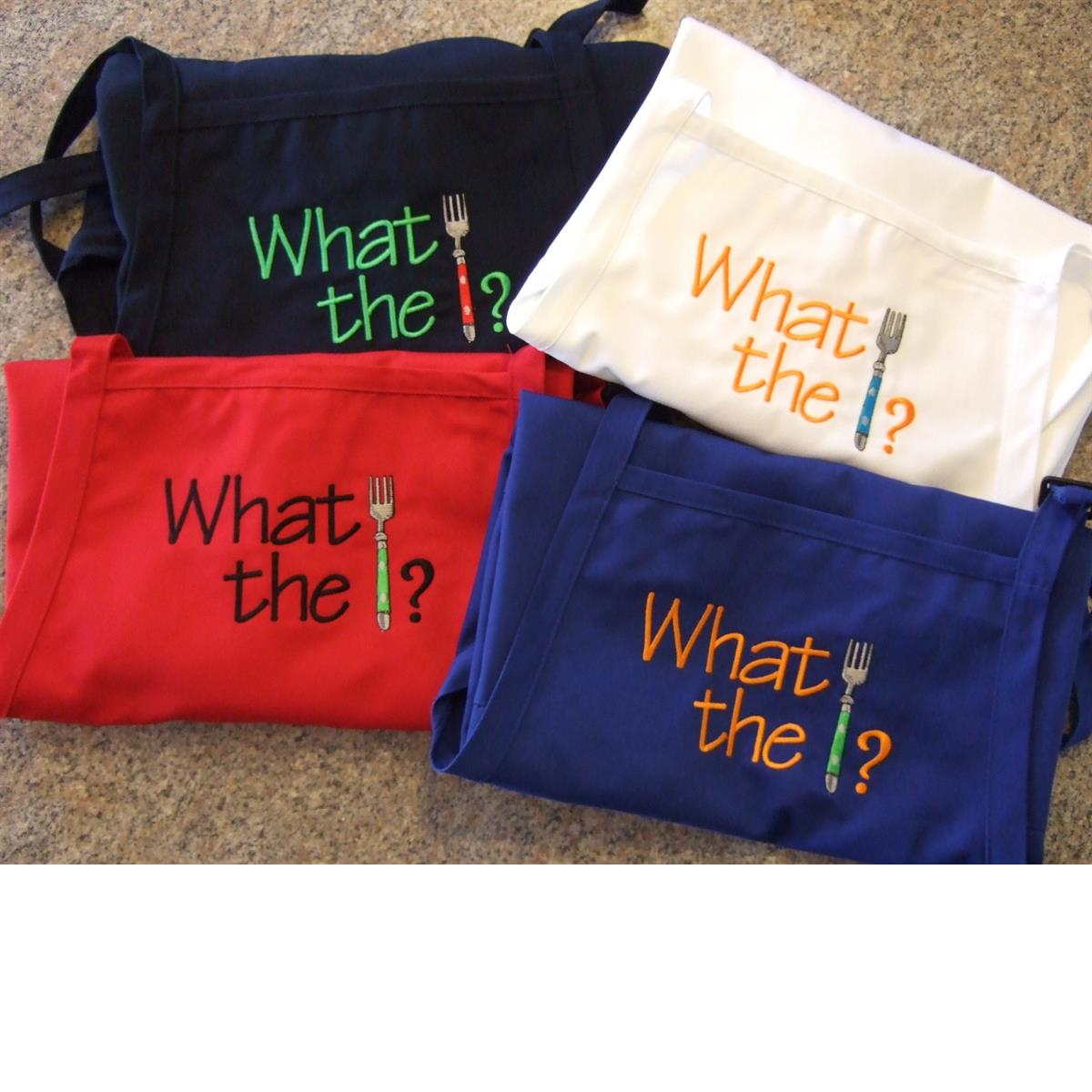 What the fork aprons