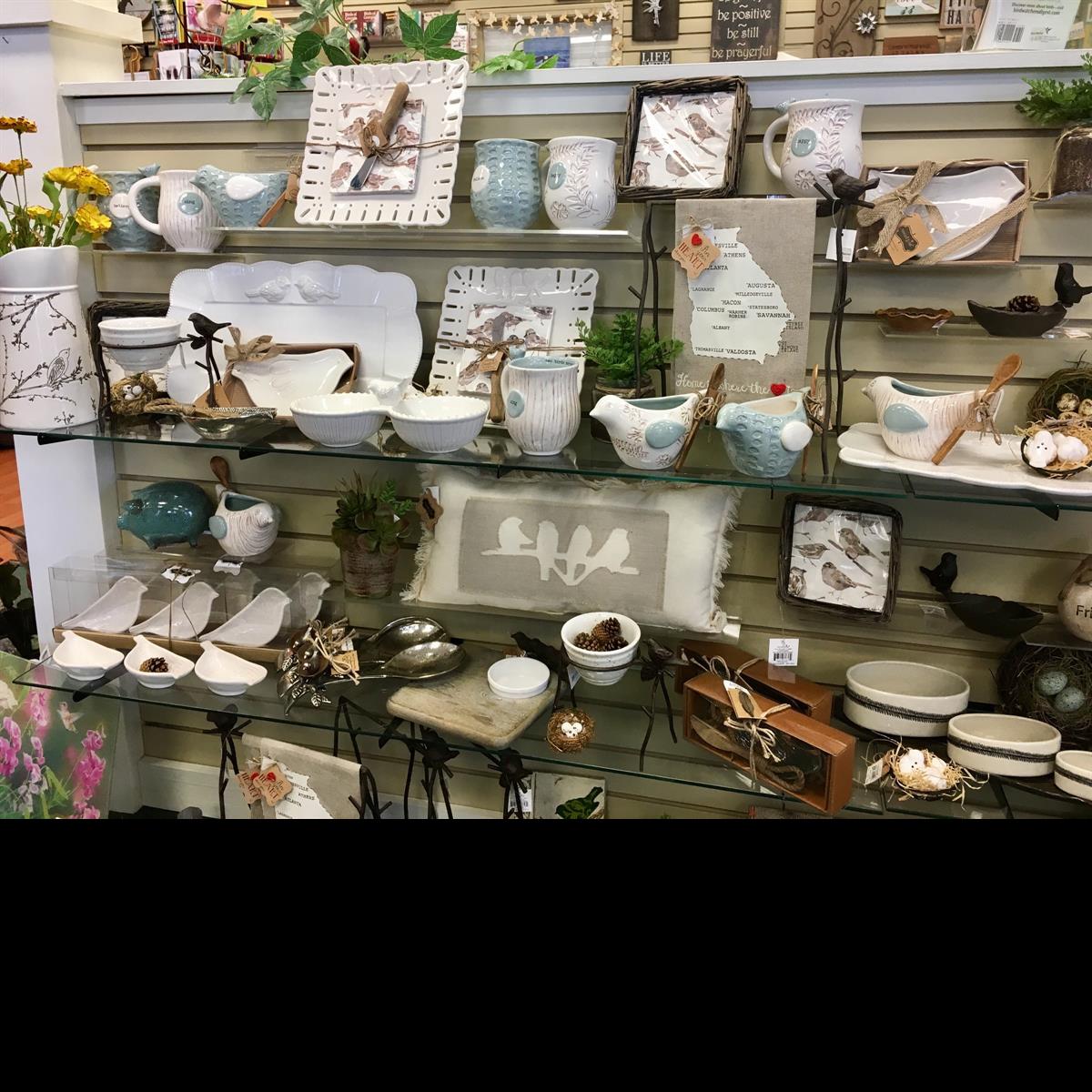 Mudpie, nest, kitchen, mugs, entertain, platter, dips, napkins, tea towel, serving pieces, bird