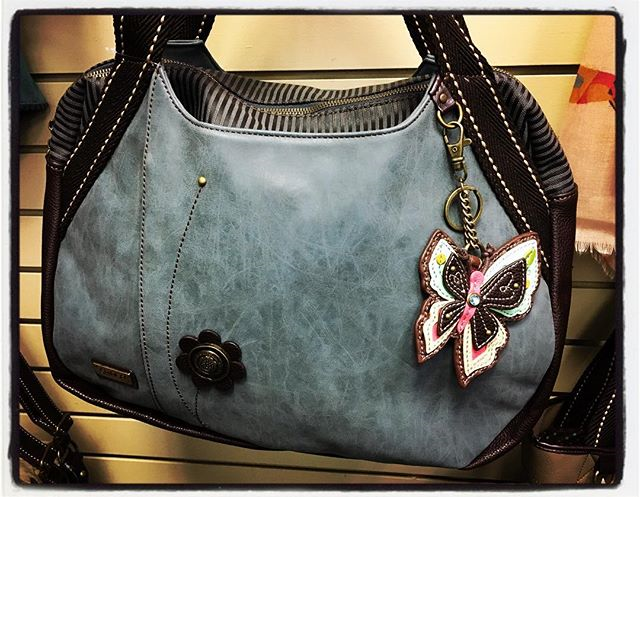 Chala, bowling bag, butterfly, vegan leather