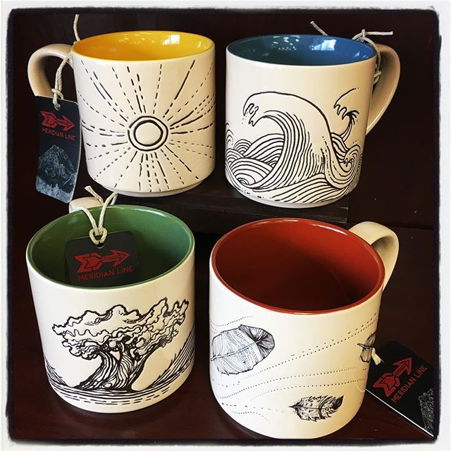 mugs, men's gifts, elements, nature, fire, water, earth, wind