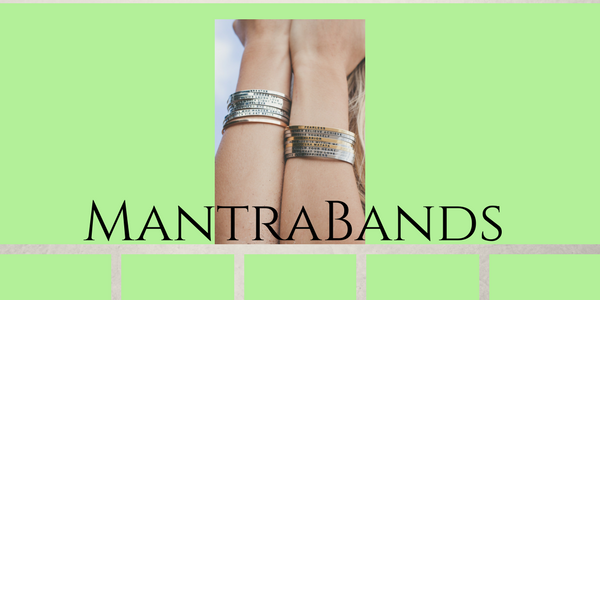 Mantrabands positive inspirations available at Gustonian Gifts in Williamsport PA