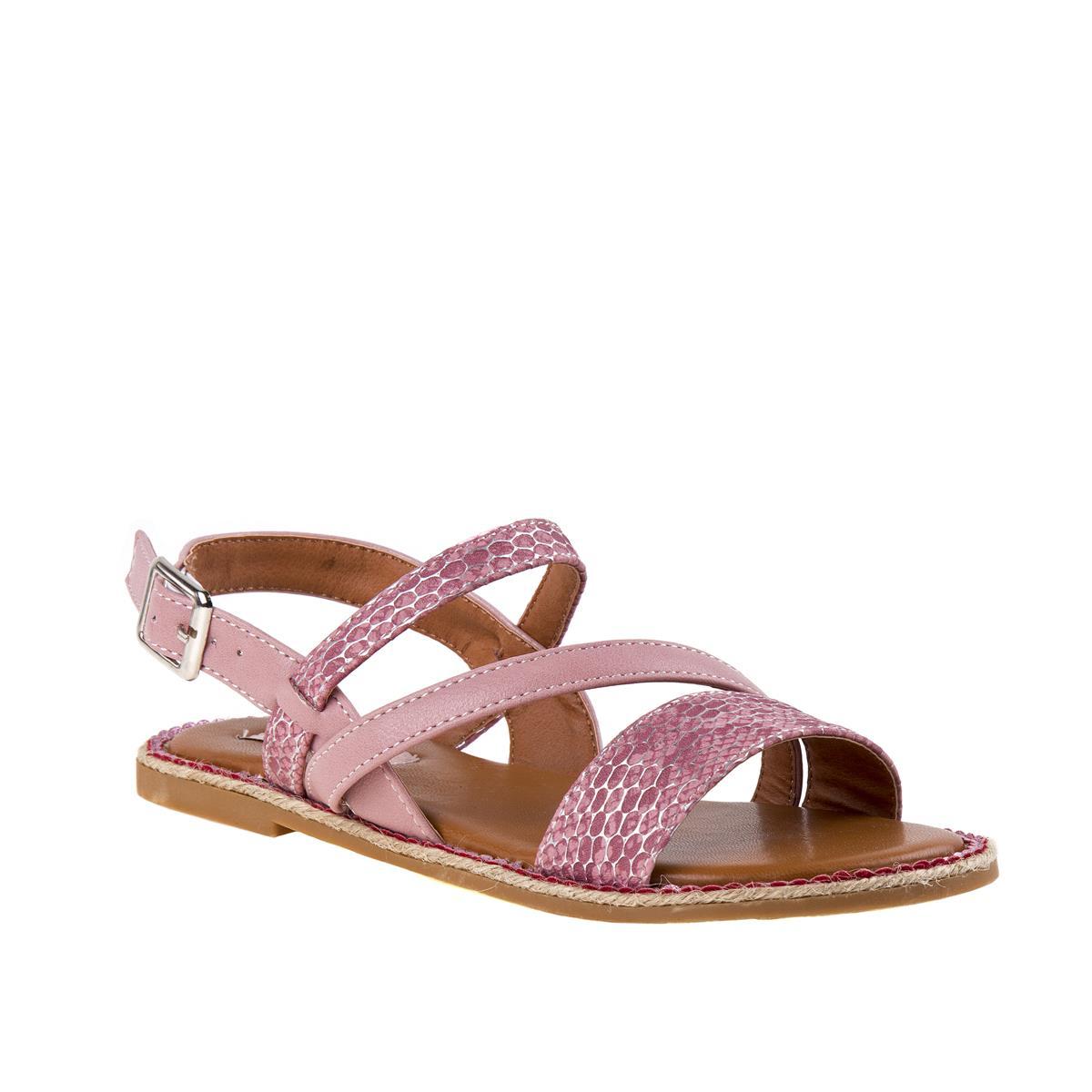 Pink Strap Sandal