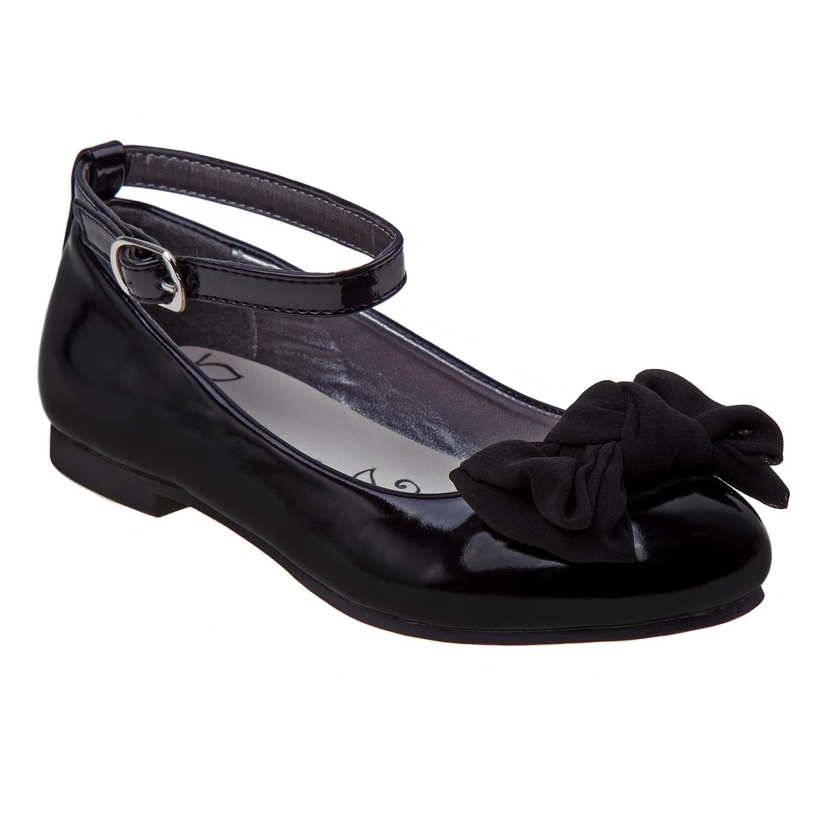 Black Patent Mary Jane with Bow