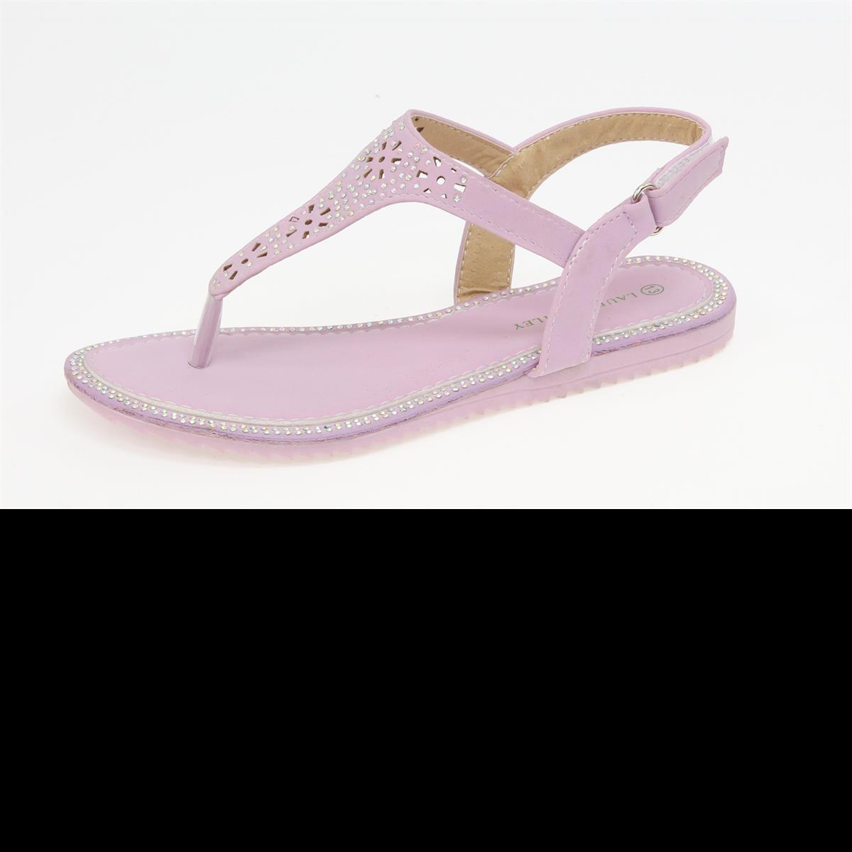Pink T Strap Sandal