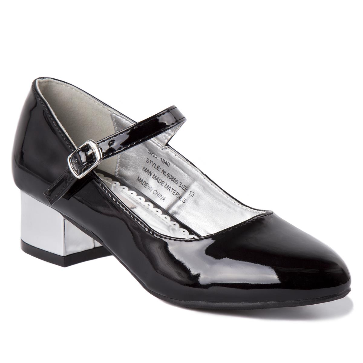 Black Patent Mary Jane Dress Shoe