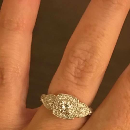Valene's Engagement Ring