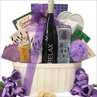 Relax_Reisling_Wine_ &_ Spa_Gift_Basket