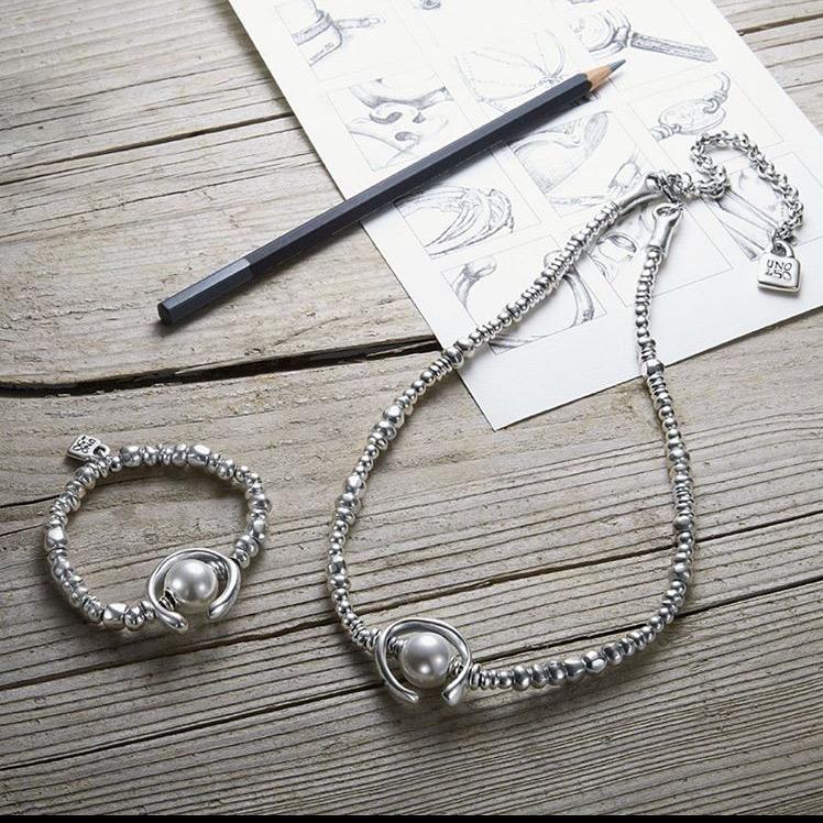 uno de 50, silver, jewelry, bracelet, pearls