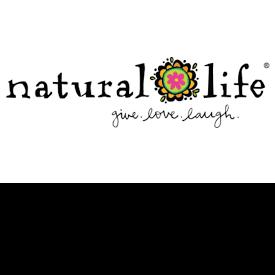 Natural Life Logo Give Love Laugh