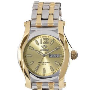 REACTOR Curie two tone sport watch