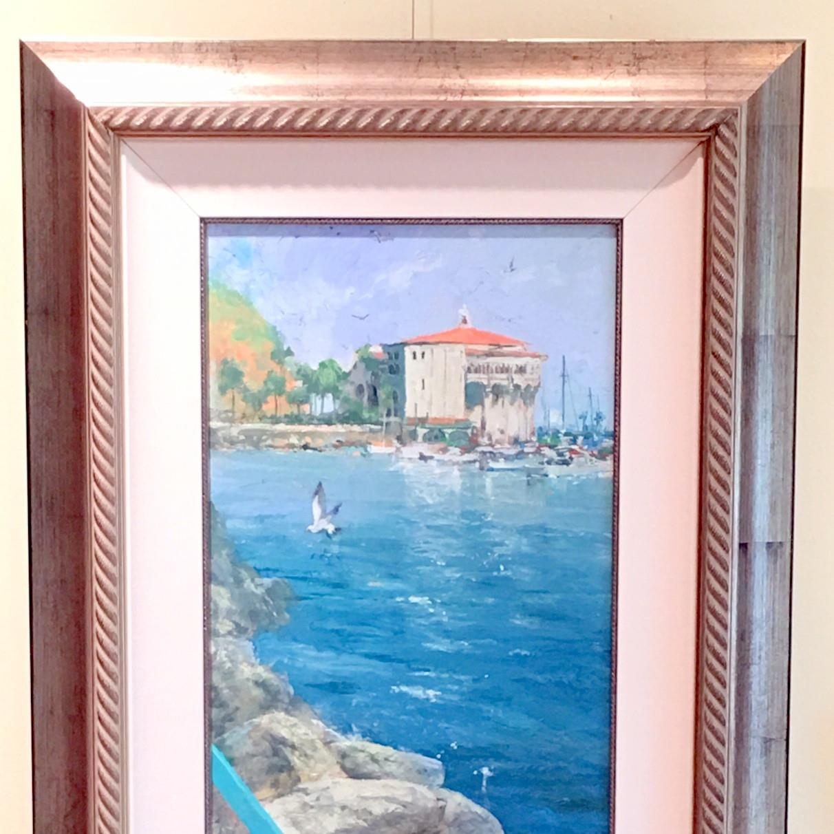 fine art painting, waterscape, artist James Coleman, beach painting, limited edition, giclee print