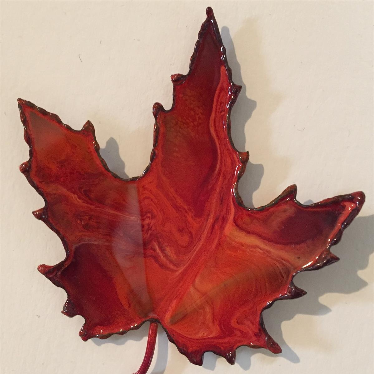Small Maple Leaf Magnet