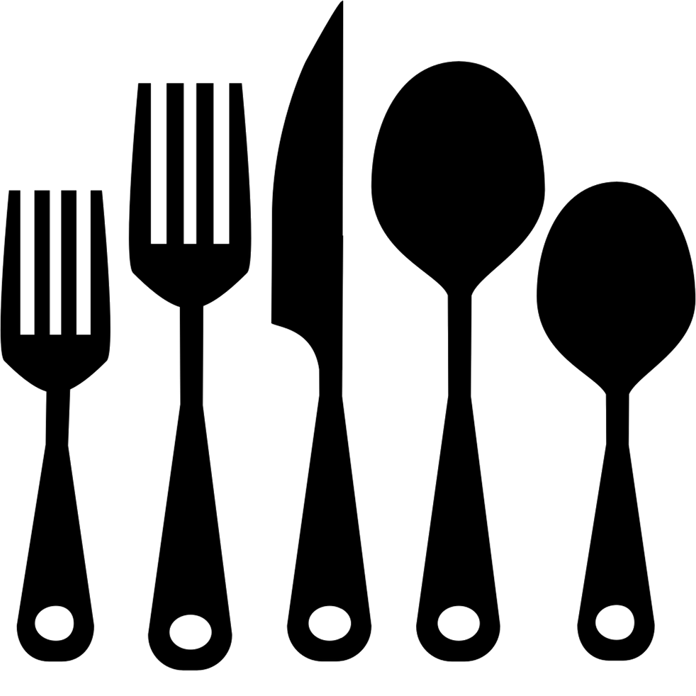 cutlery karmin's kitchen table