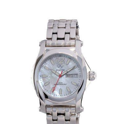 REACTOR Curie steel sports watch