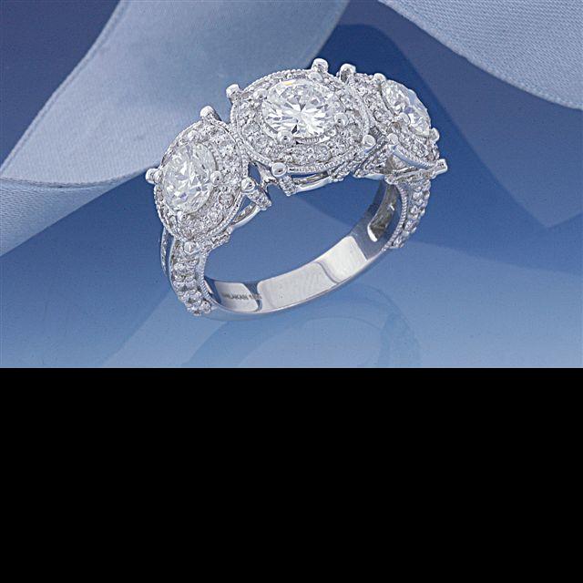 Three Stone Anniversary Ring