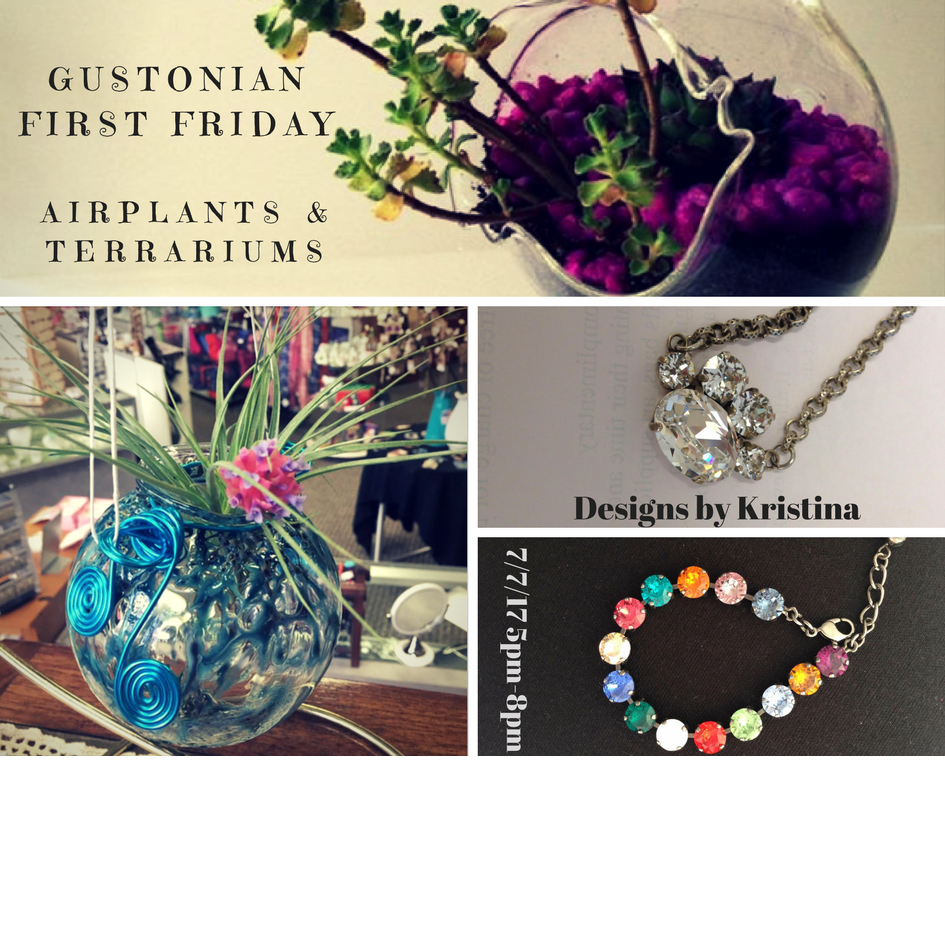 Gustonian gifts first friday in july