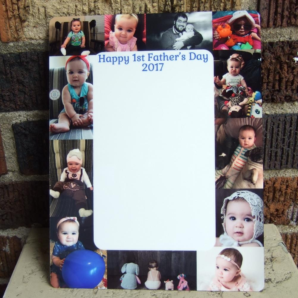 Custom Dry erase board Father's Day