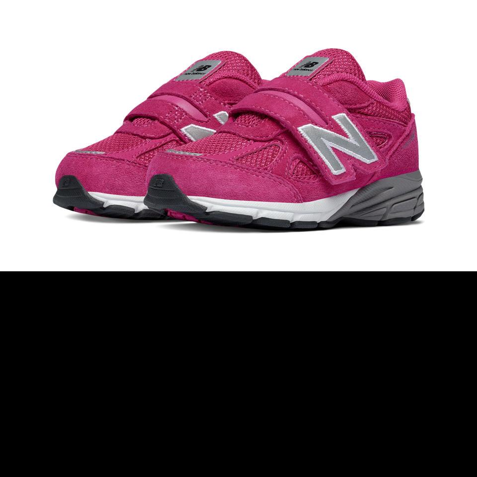 *Raspberry Suede Sneaker