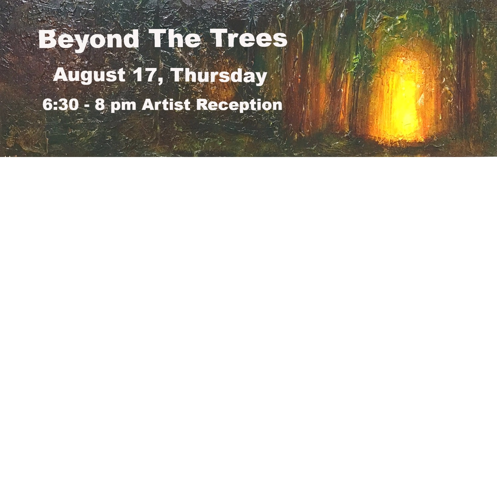 Jos Biviano, Reformation: Within the Forest Cathedral, Polychrome Resin, oil painting, landscape, Beyond the Trees show, original painting