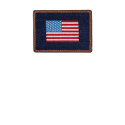 Smathers & Branson American Flag Credit Card Wallet