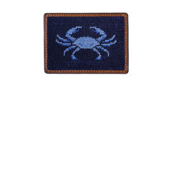 Smathers & Branson Blue Crab Credit Card Wallet