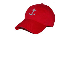 Smathers & Branson Red Anchor Hat